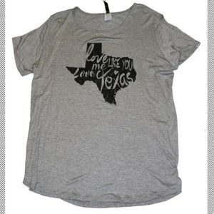 Tops - Love Me Like You Love Texas Shirt
